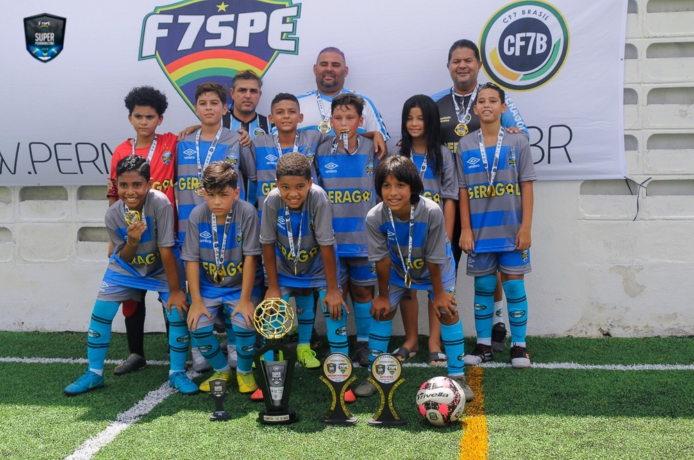 Geragol vence Sport por 2x0 e mantém hegemonia na categoria Sub-10 do estadual